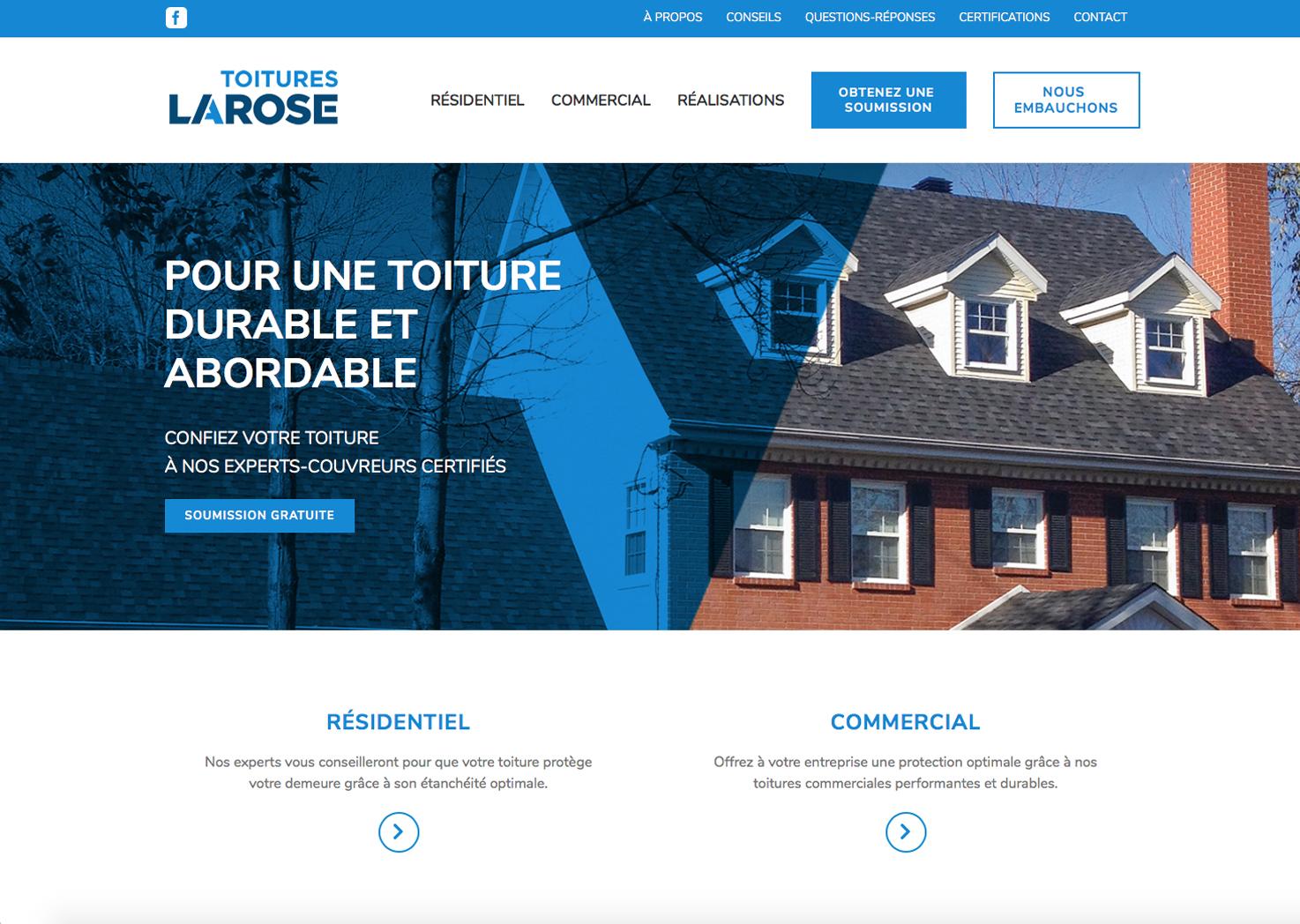 toitureslarose-website